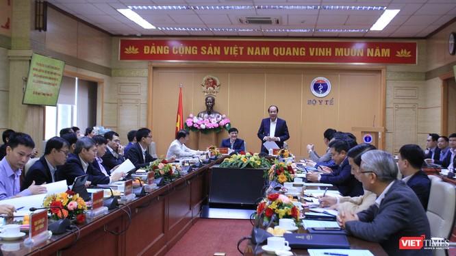 Tổ công tác của Thủ tướng Chính phủ đã làm việc với lãnh đạo Bộ Y tế về việc thực hiện các nhiệm vụ về xây dựng Chính phủ điện tử, cải cách thủ tục hành chính