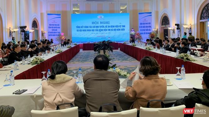 """Hội nghị về công tác chỉ đạo tuyến, kế hoạch thực hiện đề án """"Khám, chữa bệnh từ xa và hội nghị khoa học chuyên ngành Tim mạch 2020 do BV Tim Hà Nội tổ chức"""