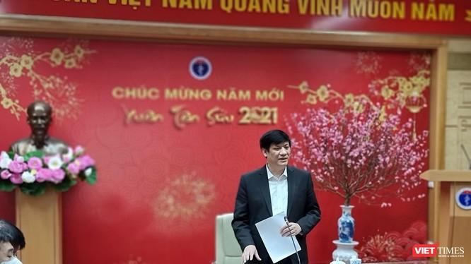 Bộ trưởng Bộ Y tế Nguyễn Thanh Long chủ trì hội nghị