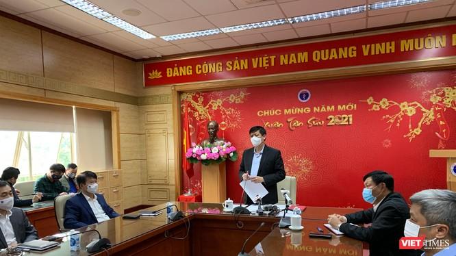 Bộ trưởng Nguyễn Thanh Long – Uỷ viên Trung ương Đảng - chủ trì hội nghị phòng chống dịch COVID-19