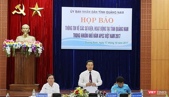 Theo ông Lê Văn Thanh, Phó Chủ tịch UBND tỉnh Quảng Nam, hiện công tác chuẩn bị cho sự kiện Năm APEC 2017 tại Quảng Nam đã hoàn tất.