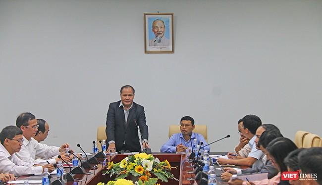 Tối ngày 1/11, Thứ trưởng Bộ NN & PT-NT Hoàng Văn Thắng đã có buổi làm việc với UBND TP.Đà Nẵng về chuẩn bị ứng phó thiên tai, mưa bão phục vụ Tuần lễ Cấp cao APEC 2017