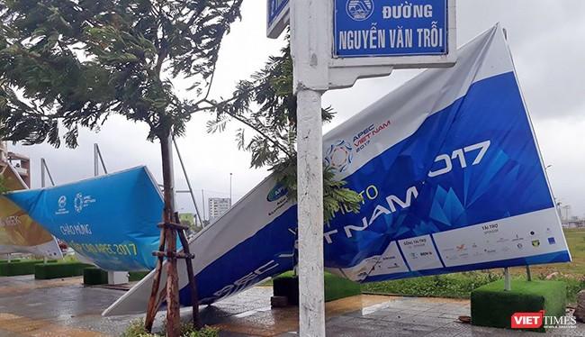 Trước những ảnh hưởng của bão số 12 gây ra đối với Đà Nẵng khi sự kiện Tuần lễ cấp cao APEC đã cận kề, Chủ tịch UBND TP Đà Nẵng đã có lời kêu gọi toàn TP chung tay khắc phục.