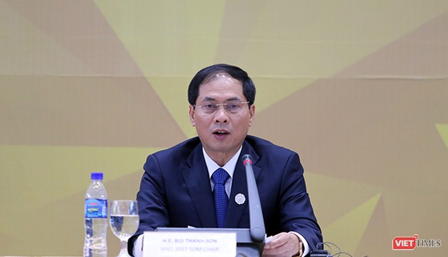 Tại cuộc họp báo thông báo về các vấn đề liên quan diễn ra chiều 7/1, Thứ trưởng thường trực Bộ Ngoại giao Bùi Thanh Sơn đã chia sẻ thông tin về chuyến thăm của Tổng thống Mỹ tại Đà Nẵng nhân sự kiện APEC