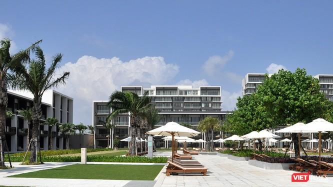 Khu nghỉ dưỡng Hyatt Regency Danang resort & spa là nơi Tổng thống Mỹ Donald Trump và đoàn công tác ở trong thời gian tham dự Hội nghị thượng đỉnh các lãnh đạo APEC 2017