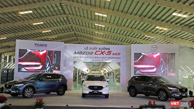 Sáng 18/11, tại Khu phức hợp Chu Lai-Trường Hải (Quảng Nam), Công ty CP Ô tô Trường Hải (Thaco) đã chính thức ra mắt mẫu xe Mazda CX-5 hoàn toàn mới với nhiều cải tiến vượt trội