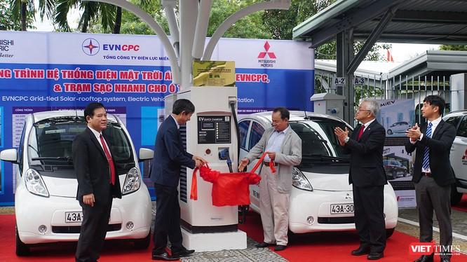 Sáng 20/11, Tổng công ty Điện lực miền Trung (EVNCPC) đã đưa vào sử dụng trạm sạc ô tô điện tại TP.Đà Nẵng vào hoạt động