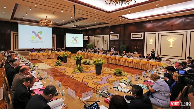 Sáng 30/11, tại Đà Nẵng, trong khuôn khổ hợp tác Á-Âu (ASEM), cuộc họp Hội đồng các Thống đốc Quỹ Á-Âu (ASEF) lần thứ 37 đã chính thức khai mạc.