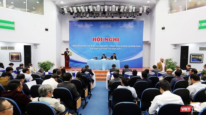 Chiều 2/1, Ban Tuyên giáo Thành ủy, Sở Thông tin và Truyền thông, Hội Nhà báo TP.Đà Nẵng đã phối hợp tổ chức Hội nghị tổng kết công tác báo chí năm 2017 và triển khai nhiệm vụ năm 2018
