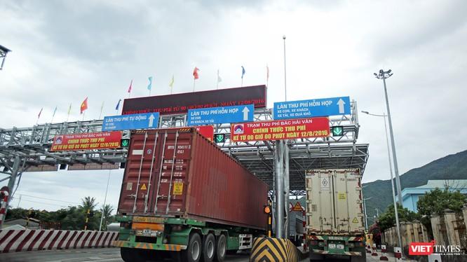 """BOT Phước Tượng-Phú Gia (thị trấn Lăng Cô, Phú Lộc, T.T.Huế) đặt trạm thu phí """"kiểu tận thu"""" khi cách hầm Phước Tượng-Phú Gia đến chục km"""