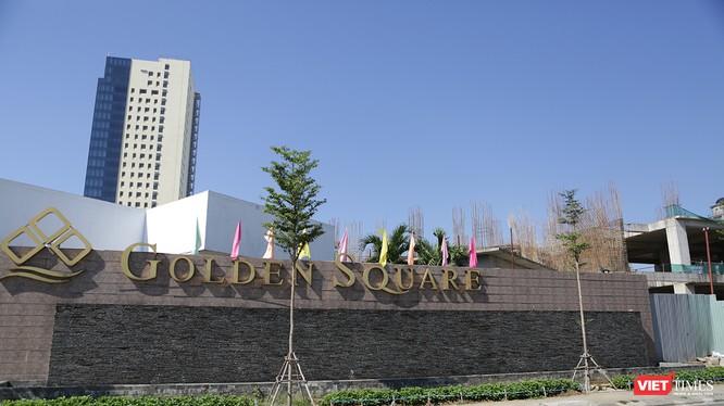 """Dự án Khu phức hợp cao cấp thương mại, văn phòng, khách sạn và chung cư cao cấp Golden Square của Công ty CP Địa ốc Đông Á là một điển hình dự án siêu treo ở trung tâm Đà Nẵng vào """"tầm ngắm"""" thanh tra năm 2018"""