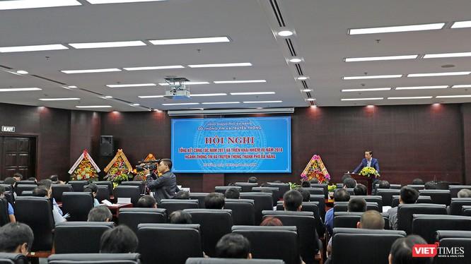 Chiều 25/1, Sở Thông tin và Truyền thông Đà Nẵng đã tổ chức Hội nghị Tổng kết công tác năm 2017 và phương hướng nhiệm vụ năm 2018.