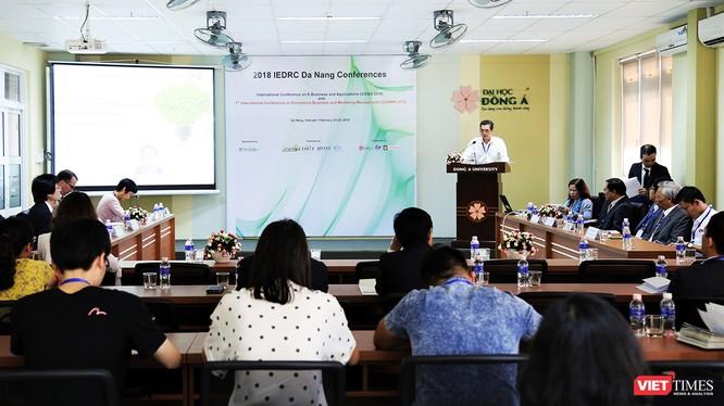 """Sự kiện nằm trong khuôn khổ chuỗi hội thảo khoa học quốc tế chuyên đề """"Kinh doanh điện tử và ứng dụng"""" lần thứ 1 năm 2018-gọi tắt là ICEBA 20."""