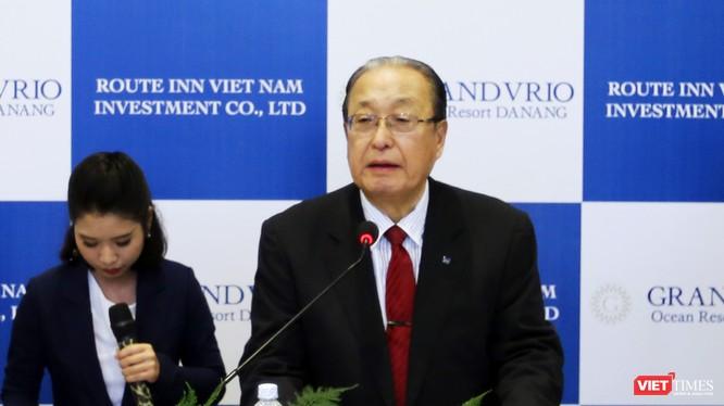 Tỷ phú Nhật Bản Katsutoshi Nagayama đã đánh dấu sự có mặt của Route Inn Group-Tập đoàn Du lịch hàng đầu Nhật Bản tại Đà Nẵng và Quảng Nam bằng việc đưa Khu nghỉ dưỡng Grandvrio Ocean Resort Da Nang mang đậm phong cách Nhật Bản vào hoạt động.