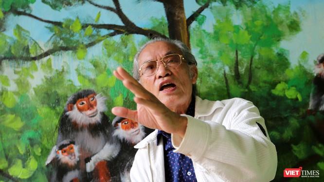 Ông Hồ Duy Diệm, Chủ tịch Hội Bảo vệ Lưu vực và dải biển Việt Nam, nguyên Phó chủ tịch Hội quy hoạch TP Đà Nẵng