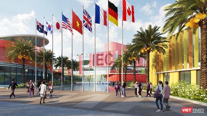 Thành phố giáo dục quốc tế - IEC (The International Education City) đầu tiên tại Việt Nam ở TP Quảng Ngãi