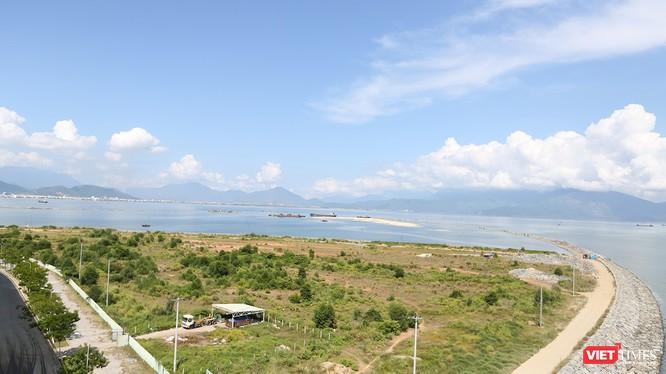 Một góc dự án khu đô thị Đa Phước