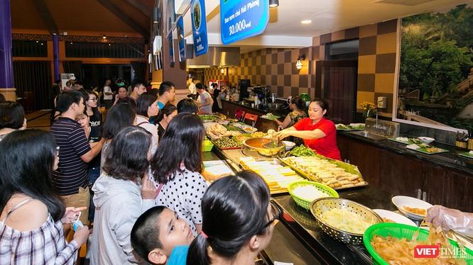 """Để phục vụ DIFF 2018, Không gian ẩm thực với chủ đề """"Bốn mùa hương sắc"""" sẽ chính thức ra mắt vào ngày 29/4 với công suất phục vụ lên đến 5.000 người."""