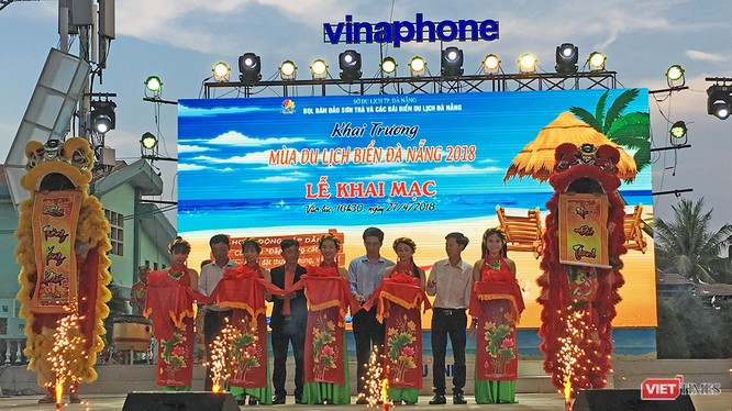 Chiều tối hôm qua (27/4), ngành du lịch Đà Nẵng đã chính thức khởi động Mùa du lịch biển Đà Nẵng 2018 với nhiều hoạt động hấp dẫn.