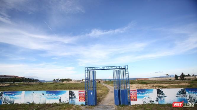 """Một dự án nằm """"trùm mền"""" khá lâu tại khu vực biển Ngũ Hành Sơn"""