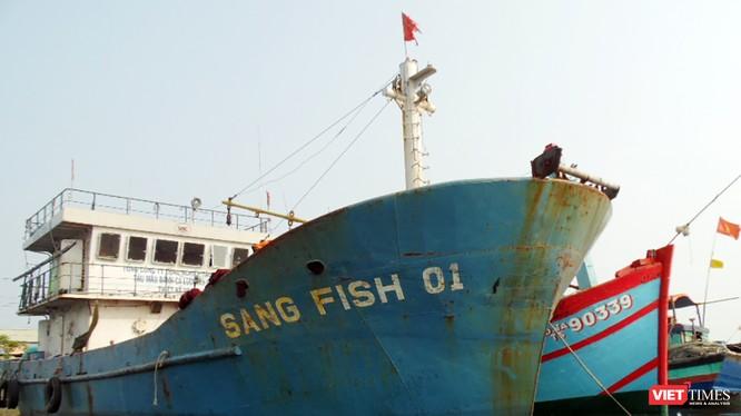 Sang Fish 01, một trong những con tàu vỏ thép đầu tiên của Đà Nẵng bị chủ nhân trả về nơi sản xuất vì có quá nhiều lỗi trong quá trình vận hành và khai thác