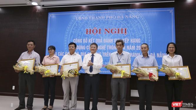 Công bố kết quả đánh giá, xếp hạng ứng dụng CNTT năm 2017 của các cơ quan, địa phương trên địa bàn Đà Nẵng.