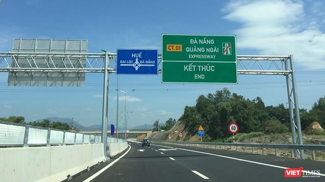 Sau nhiều lần chậm trễ, Chủ tịch Hội đồng thành viên VEC đã thừa nhận trách nhiệm và cam kết đảm bảo thông xe tuyến cao tốc Đà Nẵng-Quảng Ngãi vào ngày 2/9 tới.