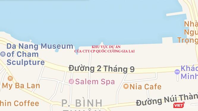 UBND TP Đà Nẵng vừa có văn bản gửi các cơ quan chức năng về việc tạm ngừng cấp phép xây dựng và chuyển nhượng BĐS thuộc dự án Tổ hợp Khu dân cư, Thương mại - Dịch vụ tại đường 2/9 (quận Hải Châu, TP Đà Nẵng) của Công ty CP Quốc Cường Gia Lai.