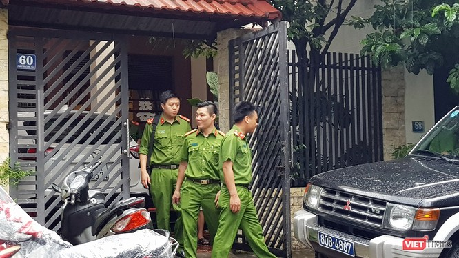 Sáng 9/8, C44 đã khám xét nhà riêng của ông Phan Ngọc Thạch, nguyên Chủ tịch HĐQT, Tổng Giám đốc Danatours.