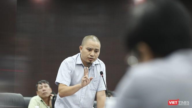 Ông Nguyễn Văn Hùng-Chủ nhiệm CLB Lữ hành Hoa ngữ tại Đà Nẵng cảnh báo tình trạng thất thu thuế đối với tỏi giá rẻ từ thị trường Quốc