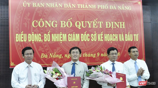 Sáng 14/9, Ban Tổ chức Thành ủy Đà Nẵng đã công bố quyết định của Thành ủy Đà Nẵng điều động và bổ nhiệm ông Trần Văn Sơn, Giám đốc Sở KH-ĐT TP Đà Nẵng sang giữ chức Phó Ban Nội chính Thành ủy.