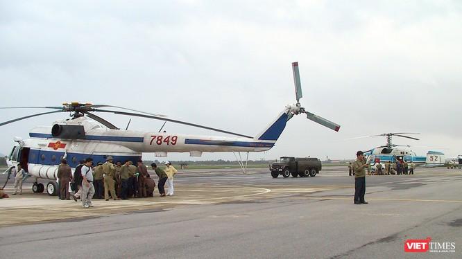 Bộ Quốc phòng đã có kế hoạch điều động lực lượng gồm 400.000 quân, 3.000 phương tiện thiết bị, 44 tàu và 8 máy thuộc các đơn vị, các quân khu để sẵn sàng ứng phó với bão Mangkhut