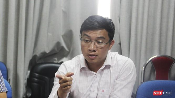 Ông Nguyễn Tiến Thành - Giám đốc Ban QLDA Dự án đường cao tốc Đà Nẵng - Quảng Ngãi.