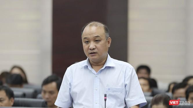 Ông Lê Quang Nam-Giám đốc Sở TN&MT TP Đà Nẵng được Ban Thường vụ Thành ủy Đà Nẵng điều động sang giữ vị trí Bí thư Quận ủy Cẩm Lệ