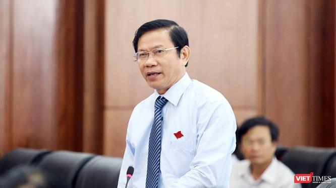 Ông Võ Văn Thương, Trưởng Ban tổ chức Thành ủy Đà Nẵng.
