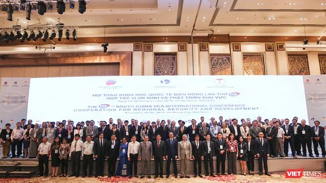"""Hội thảo Khoa học Quốc tế Biển Đông lần thứ 10 với chủ đề: """"Hợp tác vì An ninh và Phát triển Khu vực"""" diễn ra tại Đà Nẵng."""