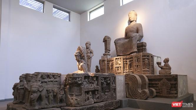 Đài thờ Đồng Dương đang được lưu giữ, trưng bày tại Bảo tàng Điêu khắc Chăm Đà Nẵng đã trở thành Bảo vật Quốc gia thứ 4 mà Đà Nẵng đang gìn giữ