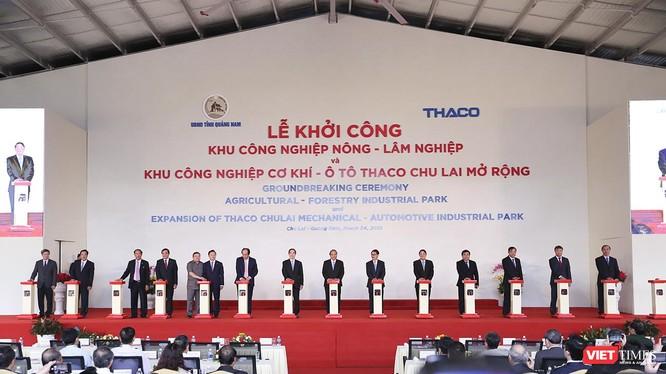 Ngày 24/3, tại Khu kinh tế mở mở Chu Lai, Công ty cổ phần ô tô Trường Hải (THACO) đã tổ chức lễ khởi công Khu Công nghiệp Nông – lâm nghiệp và nhiều dự án trọng điểm khác.