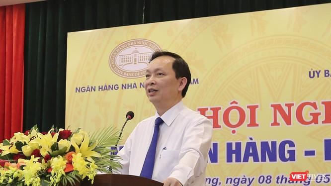 Ông Đào Minh Tú, Phó Thống đốc NHNN Việt Nam phát biểu đề dẫn Hội nghị Kết nối Ngân hàng-Doanh nghiệp tại Đà Nẵng