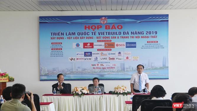 Chiều ngày 10/5, Ban tổ chức VietBuild Đà Nẵng 2019 tổ chức Họp báo công bố thông tin triển lãm