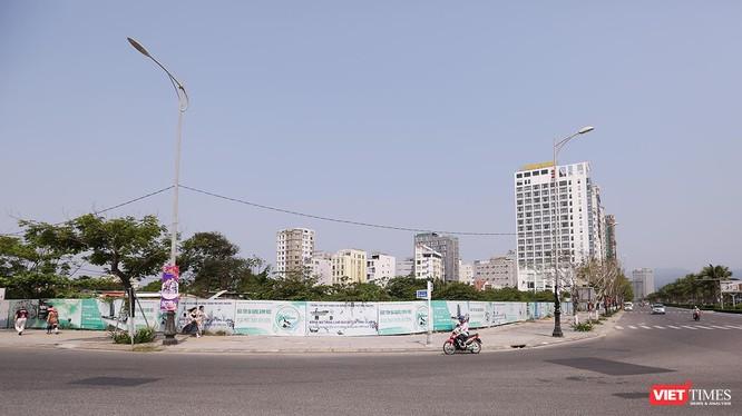 Các lô đất có ký hiệu A12, A13, A14, A15 và A18 tại mặt đường Võ Văn Kiệt, quận Sơn Trà.