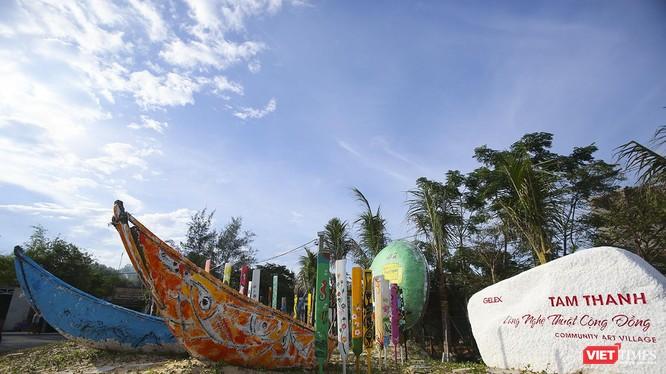 Trong khuôn khổ sự kiện Festival du lịch biển Tam Kỳ 2019, UBND TP Tam Kỳ sẽ khôi phục lại Dự án tranh vẽ nghệ thuật trên thuyền thúng Tam Thanh tại làng nghệ thuật cộng đồng Tam Thanh.