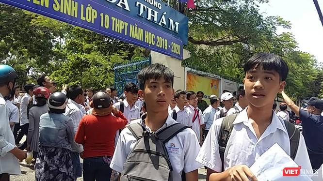 Kết quả Kỳ thi Tuyển sinh lớp 10 THPT tại Đà Nẵng có 56,8% bài thi môn Ngữ văn và 66,1% bài thi môn Toán có điểm thi từ trung bình trở lên.