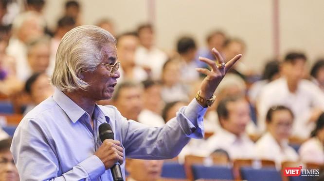 Cử tri Đỗ Thành Nhân, nguyên ủy viên Ủy ban Mặt trận Tổ quốc VN TP Đà Nẵng kiến nghị trả lại đất Công viên 29-3 cho người dân