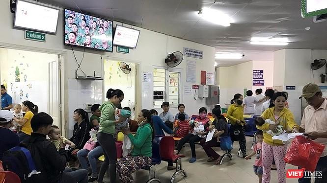 Bệnh nhi khám và điều trị tại bệnh viện Phụ sản - Nhi Đà Nẵng gia tăng