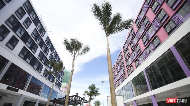 Một góc khi phức hợp căn hộ ở Đà Nẵng