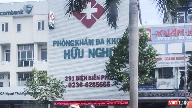 Phòng khám phòng khám đa khoa Hữu Nghị, địa chỉ 291 Điện Biên Phủ, quận Thanh Khê, TP Đà Nẵng