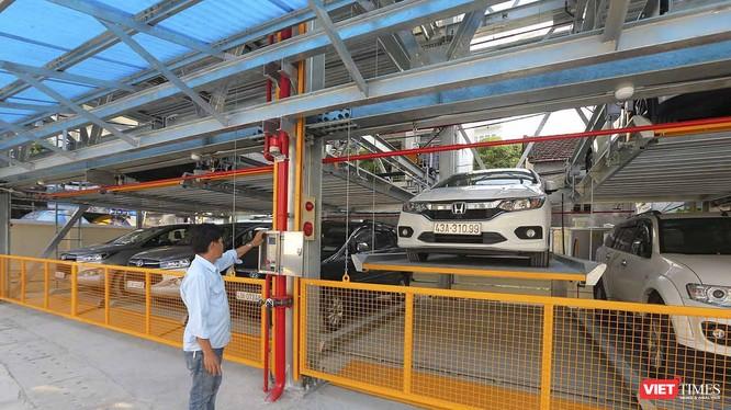 Bãi giữ xe thông minh đầu tiên của Đà Nẵng