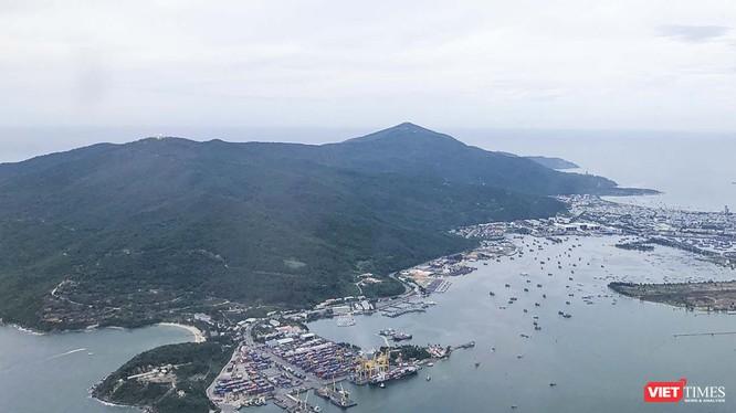 Bán đảo Sơn Trà nhìn từ trên cao