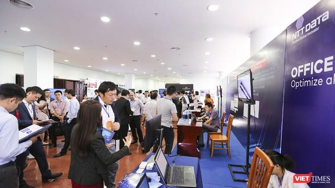 Các doanh nghiệp giới thiệu công nghệ tại Japan ICT Day 2019 tổ chức tại Đà Nẵng